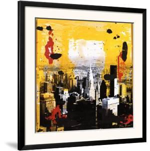 Yellow City by Tony Soulie