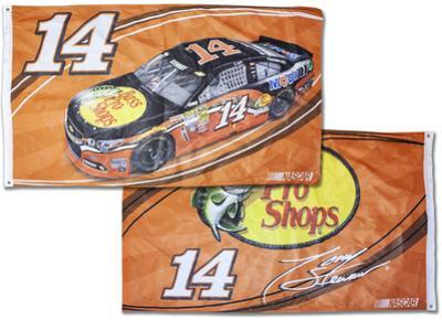 Tony Stewart Deluxe 2-Sided Flag