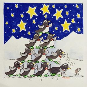 Penguin Formation, 2005 by Tony Todd