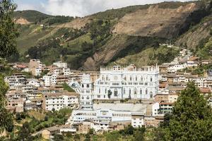 El Santuario de la Virgen del Cisne, in village of El Cisne, near Loja, Southern Highlands, Ecuador by Tony Waltham