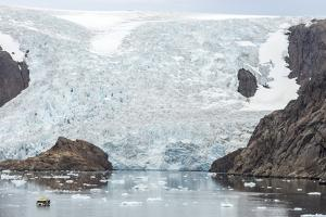 Kujatdeleq Glacier, Prins Christian Sund, southern Greenland, Polar Regions by Tony Waltham
