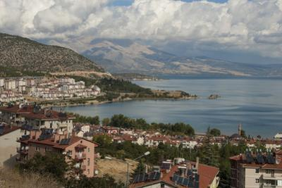 Lake Egirdir, Isparta, Western Turkey, Anatolia, Turkey, Asia Minor, Eurasia by Tony Waltham