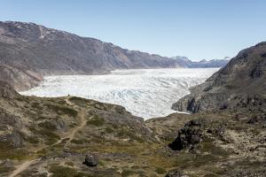 Narsarsuaq Sermia, Narsarsuaq, southern Greenland, Polar Regions by Tony Waltham