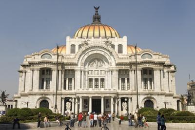 Palacio De Belles Artes and Torre Latinoamericana, Mexico City, Mexico, North America