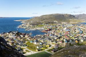 Qaqortoq, southern Greenland, Polar Regions by Tony Waltham
