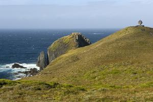The Albatross Monument at Cape Horn, Isla De Cabo De Hornos, Tierra Del Fuego, Chile, South America by Tony Waltham