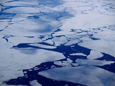 Artic Ice Floes, Nunavut, Canada