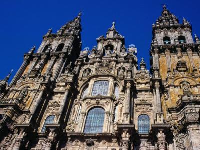 Catedral Del Apostol, Santiago De Compostela, Galicia, Spain
