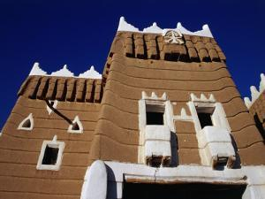 Exterior of Traditional Mud Najran Fort, Najran, Asir, Saudi Arabia by Tony Wheeler