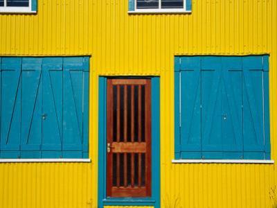 Facade of House, Stanley, East Falkland, Falkland Islands