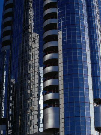 Modern Architecture on Corniche, Abu Dhabi, United Arab Emirates