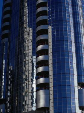 Modern Architecture on Corniche, Abu Dhabi, United Arab Emirates by Tony Wheeler