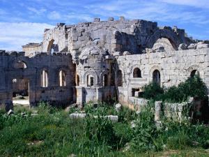 Qala'At Samaan, Ruined Basilica of St. Simeon of Stylites, Built Around Pillar of St. Simeon, Syria by Tony Wheeler