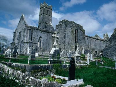 Ruin of Ennis Friary, Founded by O'Brien Kings of Thomond in 13th Century, Ennis, Ireland