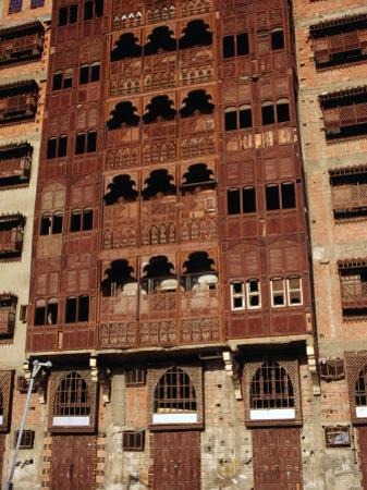 Shorbatly House, Traditional Local Architecture, Jiddah, Makkah, Saudi Arabia