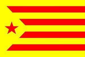 Catalan Nationalist Flag by tony4urban
