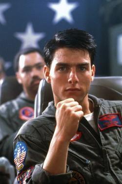 Top Gun by Tony Scott with Tom Cruise, 1986 (photo)