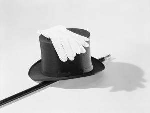 Top Hat, Cane and Gloves