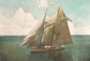 Top-Sail Schooner