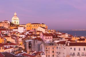 Old Lisbon at Sunset by topdeq