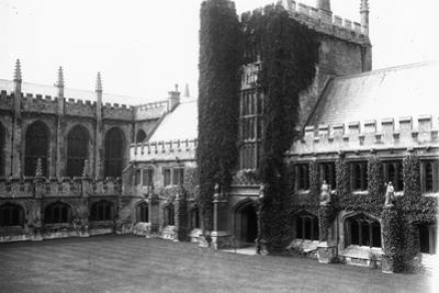 Magdalen College by Topical Press Agency