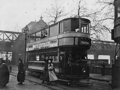 Women's Tram by Topical Press Agency