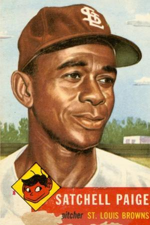 Topps Satchell Paige Baseball Card. 1953; Archives Center, NMAH