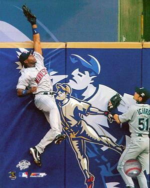 Torii Hunter 2002 All- Star Game Action