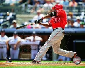 Torii Hunter 2010 Action