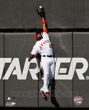 Torii Hunter 2010 Spotlight Action