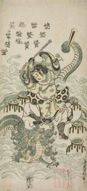 Susano-O No Mikoto Killing the Eight-Headed Dragon, 1748 by Torii Kiyomasu II