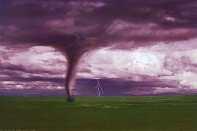 Tornado and Lightning on Field