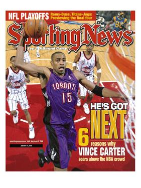 Toronto Raptors' Vince Carter - January 24, 2000