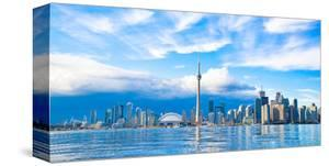 Toronto Skyline Center Island