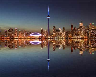 Toronto Skyline & Lake Ontario