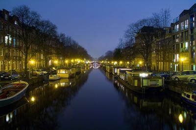 Amsterdam, New Prinsengracht, Houseboats
