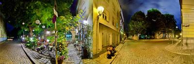 Germany, Berlin, Beer Garden ' Zur Letzten Instanz' Near the Old Town Wall