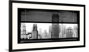 View over Manhattan, New York by Torsten Hoffman