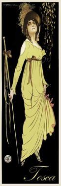 Tosca Archival 1918 Rare
