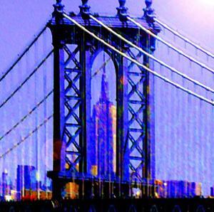 Brooklyn Bridge, New York by Tosh