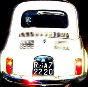 Fiat 500, Rome by Tosh