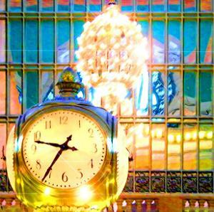 Grand Central Clock, New York by Tosh