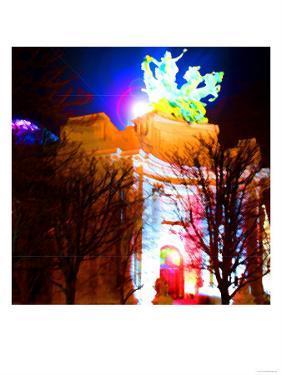 Grand Palais Night, Paris by Tosh