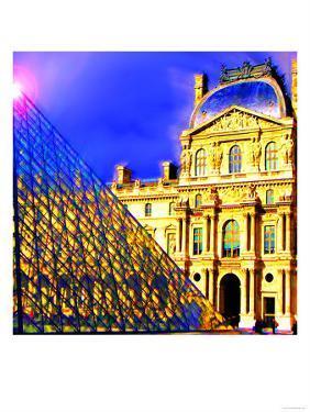 Louvre, Paris, France by Tosh
