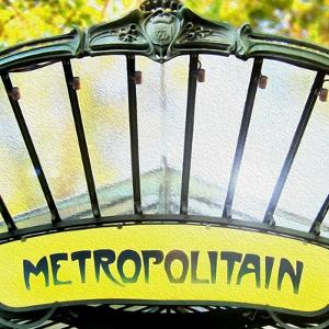 Metropolitain Entrance by Tosh
