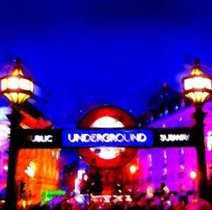 Piccadilly Circus Tube, London by Tosh