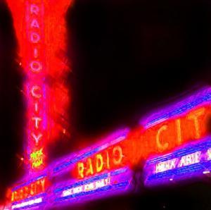 Radio City Night, New York by Tosh