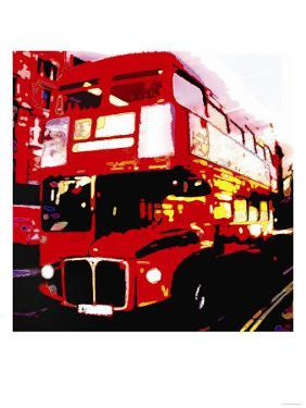 Red Bus, London by Tosh
