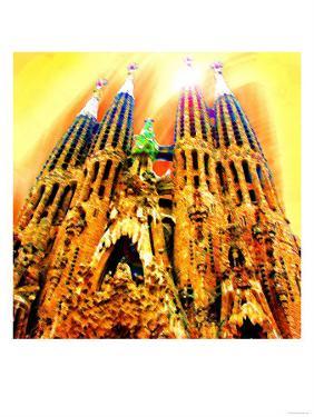 Sagrada Familia, Barcelona by Tosh