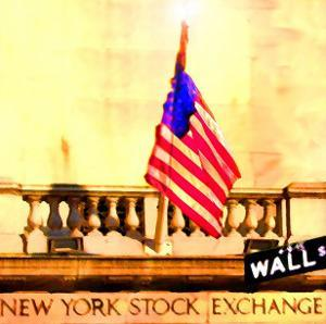 Wall Street, New York by Tosh